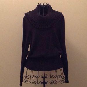 Rafaella black sweater